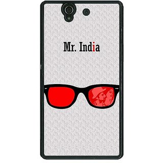 1 Crazy Designer Bollywood Superstar Mr. India Back Cover Case For Sony Xperia Z C461089