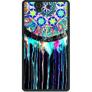 1 Crazy Designer Abstract Dream Catcher Pattern Back Cover Case For Sony Xperia Z C461509