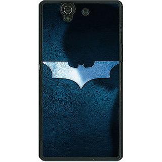 1 Crazy Designer Superheroes Batman Dark knight Back Cover Case For Sony Xperia Z C460003