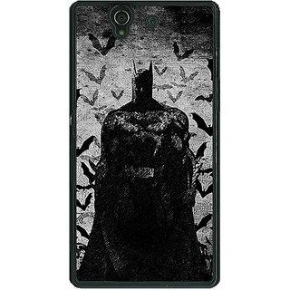 1 Crazy Designer Superheroes Batman Dark knight Back Cover Case For Sony Xperia Z C460008