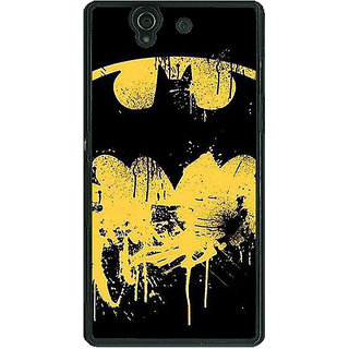 1 Crazy Designer Superheroes Batman Dark knight Back Cover Case For Sony Xperia Z C460011