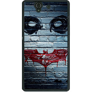 1 Crazy Designer Villain Joker Back Cover Case For Sony Xperia Z C460028