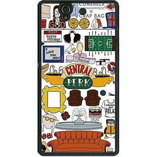 1 Crazy Designer TV Series FRIENDS Back Cover Case For Sony Xperia Z C460342