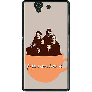 1 Crazy Designer TV Series FRIENDS Back Cover Case For Sony Xperia Z C460343