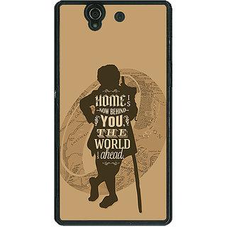 1 Crazy Designer LOTR Hobbit  Back Cover Case For Sony Xperia Z C460368