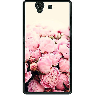 1 Crazy Designer Floral Pattern  Back Cover Case For Sony Xperia Z C460657