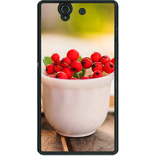 1 Crazy Designer Berries Back Cover Case For Sony Xperia Z C460684