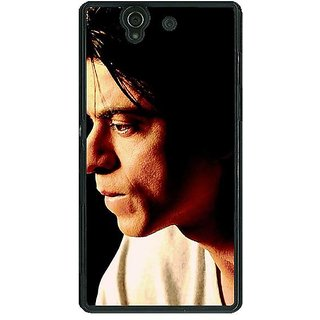 1 Crazy Designer Bollywood Superstar Shahrukh Khan Back Cover Case For Sony Xperia Z C460917