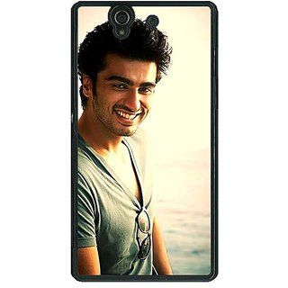 1 Crazy Designer Bollywood Superstar Arjun Kapoor Back Cover Case For Sony Xperia Z C460938