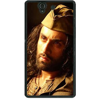 1 Crazy Designer Bollywood Superstar Ranbir Kapoor Back Cover Case For Sony Xperia Z C460958