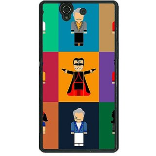 1 Crazy Designer Bollywood Superstar Villain Back Cover Case For Sony Xperia Z C461118