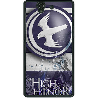 1 Crazy Designer Game Of Thrones GOT Arryn Back Cover Case For Sony Xperia Z C461532