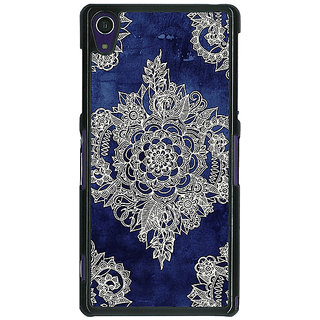 1 Crazy Designer Vintage Luxury Pattern Back Cover Case For Sony Xperia Z1 C470227