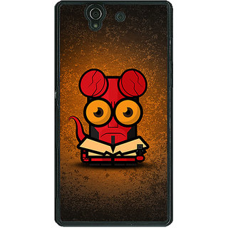 1 Crazy Designer Big Eyed Superheroes Hell Boy Back Cover Case For Sony Xperia Z C460400