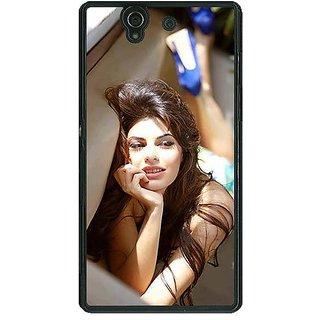 1 Crazy Designer Bollywood Superstar Jacqueline Fernandez Back Cover Case For Sony Xperia Z C460996