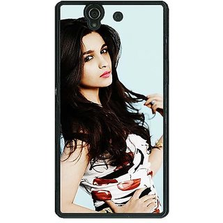 1 Crazy Designer Bollywood Superstar Alia Bhatt Back Cover Case For Sony Xperia Z C461012