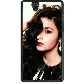 1 Crazy Designer Bollywood Superstar Alia Bhatt Back Cover Case For Sony Xperia Z C461026