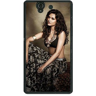 1 Crazy Designer Bollywood Superstar Esha Gupta Back Cover Case For Sony Xperia Z C461029