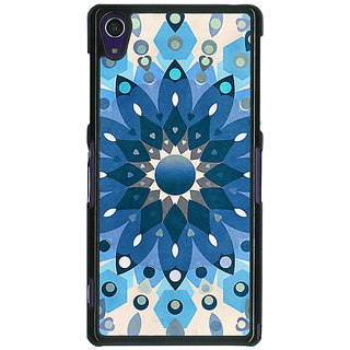 1 Crazy Designer Dream Flower Pattern Back Cover Case For Sony Xperia Z1 C470255
