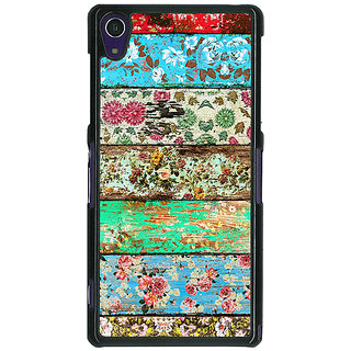 1 Crazy Designer Floral Pattern  Back Cover Case For Sony Xperia Z1 C470671