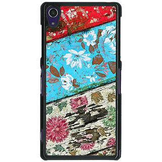 1 Crazy Designer Floral Pattern  Back Cover Case For Sony Xperia Z1 C470672