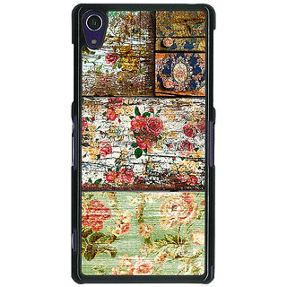 1 Crazy Designer Floral Pattern  Back Cover Case For Sony Xperia Z1 C470673