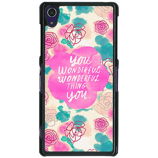 1 Crazy Designer Floral Pattern  Back Cover Case For Sony Xperia Z1 C470677
