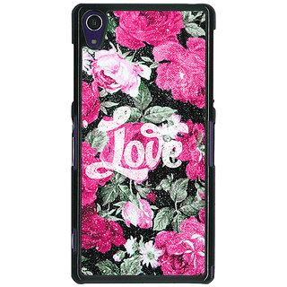 1 Crazy Designer Floral Pattern  Back Cover Case For Sony Xperia Z1 C470678
