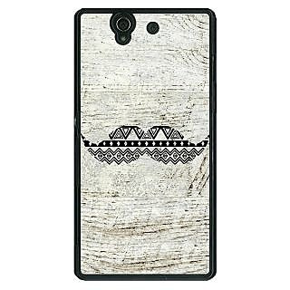1 Crazy Designer Mustache Back Cover Case For Sony Xperia Z C460754