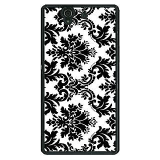 1 Crazy Designer Pattern  Back Cover Case For Sony Xperia Z C460772