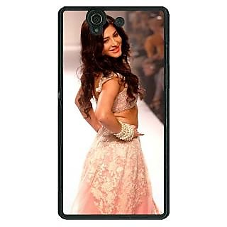 1 Crazy Designer Bollywood Superstar Shruti Hassan Back Cover Case For Sony Xperia Z C461072