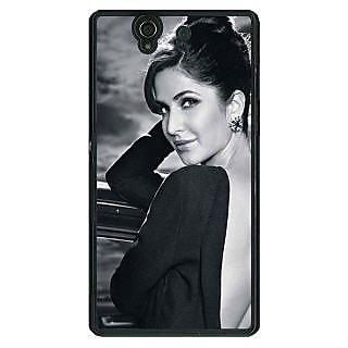 1 Crazy Designer Bollywood Superstar Katrina Kaif Back Cover Case For Sony Xperia Z C461073