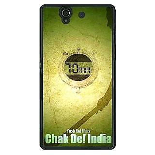 1 Crazy Designer Bollywood Superstar Chak De India Back Cover Case For Sony Xperia Z C461082