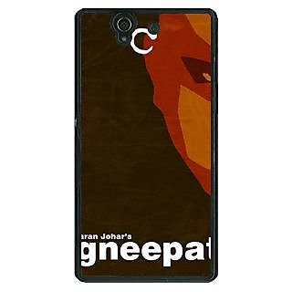 1 Crazy Designer Bollywood Superstar Agneepath Back Cover Case For Sony Xperia Z C461092