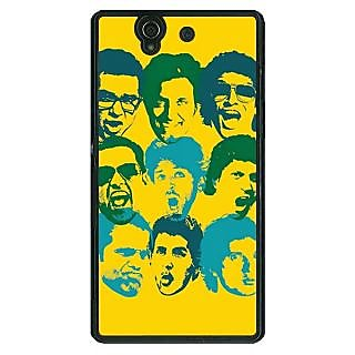 1 Crazy Designer Bollywood Superstar ZNMD Back Cover Case For Sony Xperia Z C461099