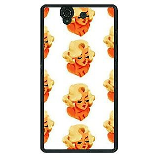 1 Crazy Designer Marilyn Monroe Pattern Back Cover Case For Sony Xperia Z C461382