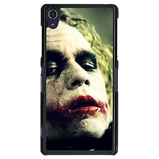 1 Crazy Designer Villain Joker Back Cover Case For Sony Xperia Z1 C470036