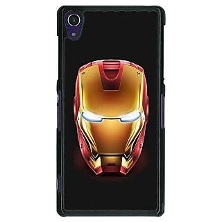1 Crazy Designer Superheroes Ironman Back Cover Case For Sony Xperia Z1 C470043