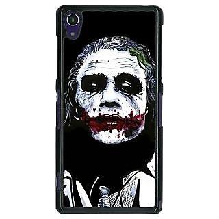 1 Crazy Designer Villain Joker Back Cover Case For Sony Xperia Z1 C470048
