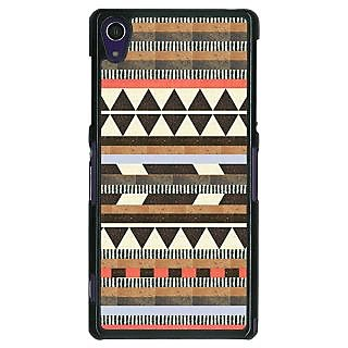 1 Crazy Designer Aztec Girly Tribal Back Cover Case For Sony Xperia Z1 C470062