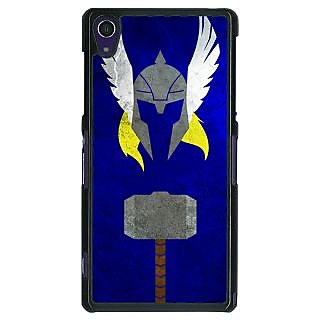 1 Crazy Designer Superheroes Thor Back Cover Case For Sony Xperia Z1 C470338