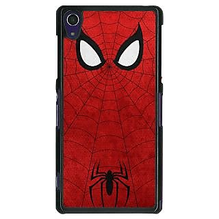 1 Crazy Designer Superheroes Spider Man Back Cover Case For Sony Xperia Z1 C470340