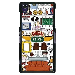 1 Crazy Designer TV Series FRIENDS Back Cover Case For Sony Xperia Z1 C470342