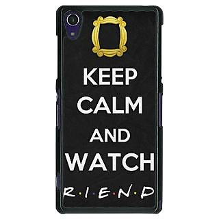 1 Crazy Designer TV Series FRIENDS Back Cover Case For Sony Xperia Z1 C470344