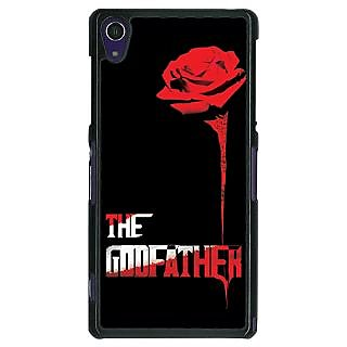 1 Crazy Designer The Godfather Back Cover Case For Sony Xperia Z1 C470347