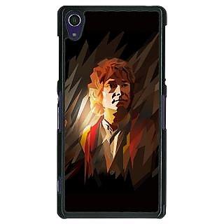 1 Crazy Designer LOTR Hobbit  Back Cover Case For Sony Xperia Z1 C470370