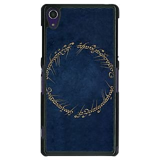 1 Crazy Designer LOTR Hobbit  Back Cover Case For Sony Xperia Z1 C470371