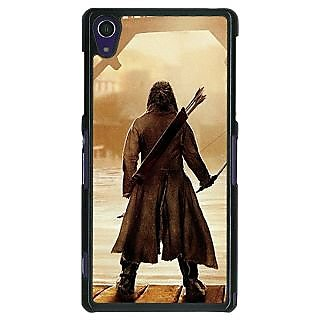 1 Crazy Designer LOTR Hobbit  Back Cover Case For Sony Xperia Z1 C470374