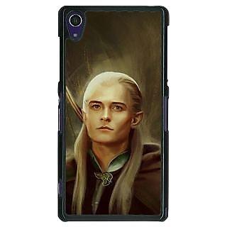 1 Crazy Designer LOTR Hobbit  Back Cover Case For Sony Xperia Z1 C470375