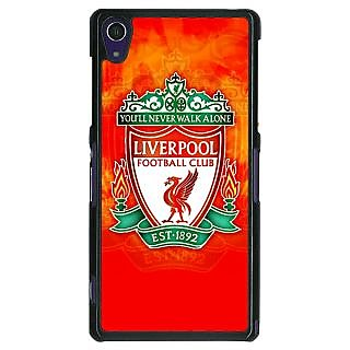 1 Crazy Designer Liverpool Back Cover Case For Sony Xperia Z1 C470547
